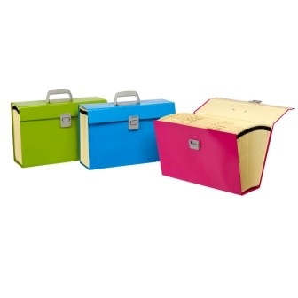 Marbig Carry File Assorted Summer Colours