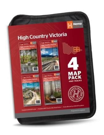 The Victorian High Country Map Pack (Min Order Qty 1)