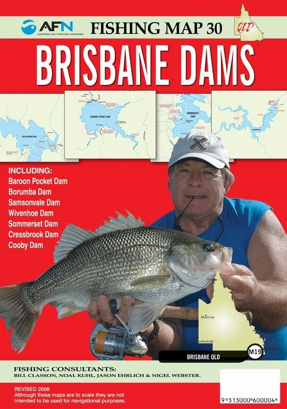 Waymore Distribution - AFN FISHING MAP - BRISBANE DAMS (Min