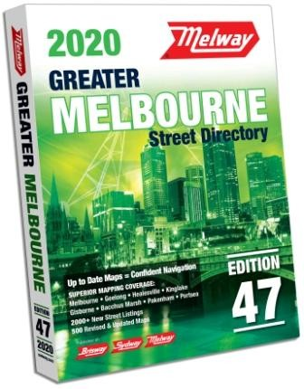 Melway 2020 Street Directory #47 (Min Order Qty 1)
