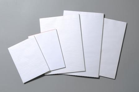 Office Note Pad 5x3 40 Leaf  Ruled Pack 8 (Min Order Qty 1)