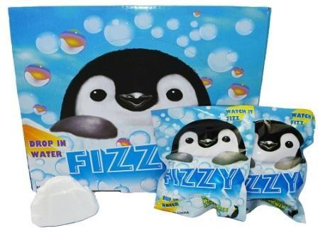 Fizzy Bag Penguin - Display of 24