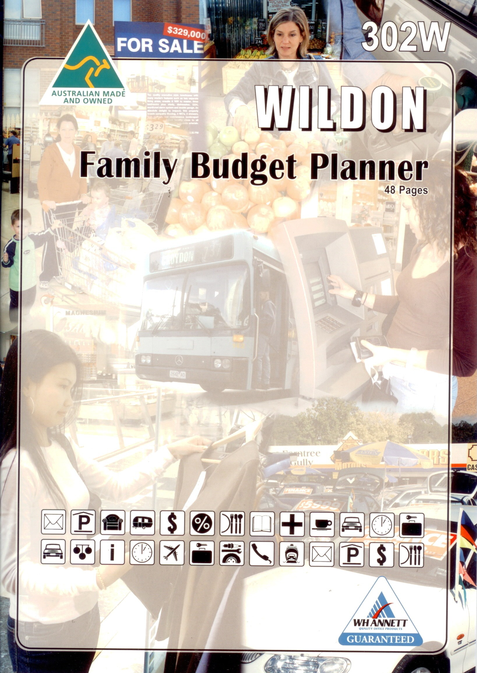 waymore distribution wildon family budget planner 48 pages