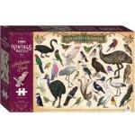 1000-piece Vintage Puzzle: Australian Birds (Min Order Qty 1)
