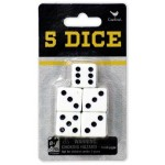 Dice Pack of 5 (Min Order Qty 3)
