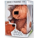 Book & Huggable Toy :  Brian the Smelly Bear (Min Order Qty 1)