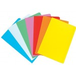 Marbig Manilla Folders Foolscap Assorted Colours Pack 20 (Min Order Qty 1)