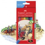 Faber-Castell Coloured Pencils Classic Pack of 12