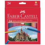 Faber-Castell Coloured Pencils Classic Pack of 24