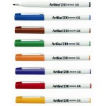 Fineliner Artline  210 Assorted Box of 12  0.6mm