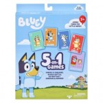 Bluey 5 In 1 card Game Set (Min Order Qty 2)