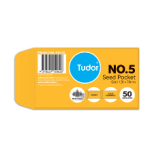 Tudor Seed Pocket  Gold #5 pack 50 (Min Order Qty 2)