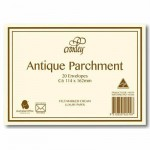 Croxley C6 Envelopes  Antique Parchment  Pack 20