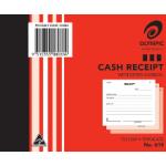 Olympic Carbon Triplicate Cash Receipt Book No. 615 100x125 100 Leaf (Min order Qty 10)
