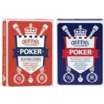 Queen's Slipper 52s POKER Playing Cards Box of 12 (Min Order Qty 1)