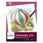 Canson Drawing Pad 220gsm A4 (Min Order Qty 1)