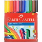 Faber Castell Connector Pens Wallet of 10 (Min Order Qty 2)