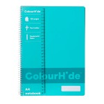 Colourhide Notebook A4 120 Page Black (Min Order Qty 5)