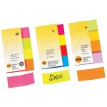 Marbig Sticky Notes 20x50  Brilliance Page Markers  (Min Order Qty 1)