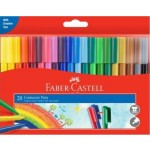 Faber Castell Connector Pens Wallet of 20 (Min Order Qty 2)