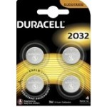 Duracell Coin Cell #2032 4 Pack (Min Order Qty 2)