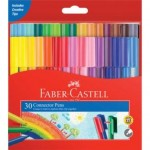 Faber Castell Connector Pens Wallet of 30 (Min Order Qty 2)