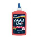 Bostik School Glue  250ml Red  (Min Order Qty 1)