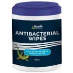 Bostik Antibacterial Wipes Canister of 60 (Min Order Qty 2
