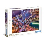 Clementoni Puzzles 2000 Piece Las Vegas Lights (Min Order Qty 1) ***Available Early September***