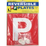 L & P Plates Complete Pack (Min Order Qty 10)