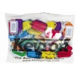 Kevron ID5 KeyTags Barcoded Assorted Colours Bag of 50 (Min Order Qty 1 Bag)