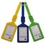 Kevron ID4 Baggage Tags Assorted Bag of 50 (Min Order Qty 1)