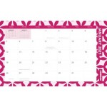 Cumberland 2021 Fashion Desk  / Wall Planner Month to View (Min Order Qty 6) **Available August 2020**