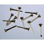 Esselte Paper Fastener Steel 25mm Box 200 Brass (Min Order Qty 1)