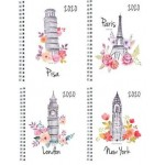 """MILFORD CITIES A5 WEEK TO VIEW 4 DESIGNS 2020 DIARY """"Available August 2019"""""""