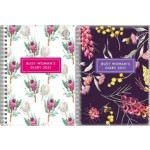 Upward 2021 A5 Week to View Busy Womans Diary Assorted Designs (Min Order Qty 6) Available August 2020