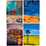 "MILFORD AUSTRALIAN LANDSCAPES A6 DAY TO PAGE 4 DESIGNS 2020 DIARY ""Available August 2019"""