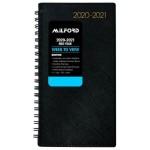 Milford Boston Financial Year 2020/21 - Week to view- Wire-O Slim 170x80 Black (Min Order Qty 1)