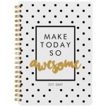 Milford 2021 Calendar Year Diary - Slogan A5 Day to Page Assorted (Min Order Qty 4)  **Available August 2020**