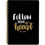 Milford 2021 Calendar Year Diary - Slogan A5 Week to View Assorted (Min Order Qty 4)  **Available Late September 2020**