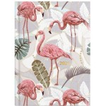 Milford 2021 Calendar Year Diary - Flamingo A5 Week to View Assorted (Min Order Qty 4)  **Available August 2020**