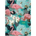 Milford 2021 Calendar Year Diary - Flamingo A5 Day to Page Assorted (Min Order Qty 4)  **Available Late September 2020**