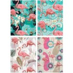 """MILFORD FLAMINGO A5 WEEK TO VIEW 4 DESIGNS 2020 DIARY """"Available August 2019"""""""