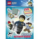 Lego City: Sticker Activity Book (Min Order Qty 1)