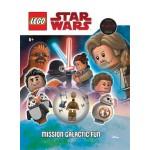 Lego Star Wars Mission Galactic Fun Activity Book (Min Order Qty 1)