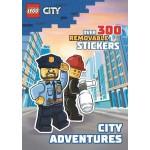 LEGO City: City Adventures Sticker Book  (Min Order Qty 2)