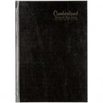 Cumberland Casebound Financial Year Diary 2021-2022 A5 Day to Page Black (Min Order Qty 1)