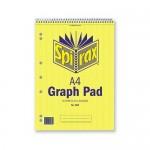 Spirax 582 Graph Book A4 2mm 30 leaf (Min Order Qty 2)