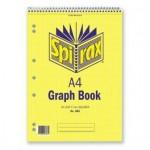 Spirax 585 Graph Pad A4 5mm 30 leaf (Min Order Qty 2)