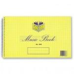 Spirax 568 Music & Theory Book  152x248mm 18 leaf (Min order Qty 2)